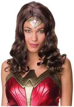 Justice League Wonder Woman Adult Costume Wig