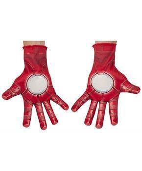 Avengers 2 Iron Man Costume Gloves Adult One Size