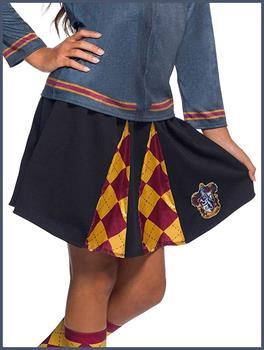 Harry Potter House Gryffindor Child Costume Skirt