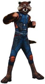Guardians Of The Galaxy Vol 2 Rocket Raccoon Deluxe Child Costume