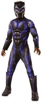 Marvel Black Panther Movie Deluxe Black Panther Child Costume