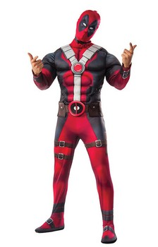 Marvel Deadpool Deluxe Costume Adult