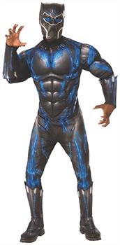 Marvel Black Panther Movie Deluxe Black Panther Adult Costume