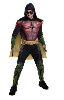 Arkham Franchise Batman Deluxe Robin Adult Costume
