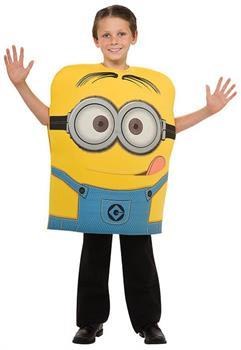 Despicable Me 2 Minion Dave Foam Costume Child
