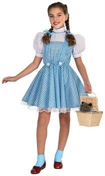 The Wizard Of Oz Deluxe Dorothy Costume Child