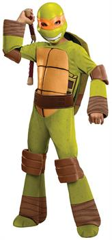 T.M.N.T. Deluxe Michelangelo Costume Child