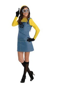 Despicable Me 2 Female Minion Costume Adult