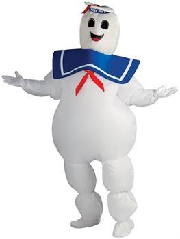 Ghostbusters Inflatable Stay Puft Marshmallow Costume Adult