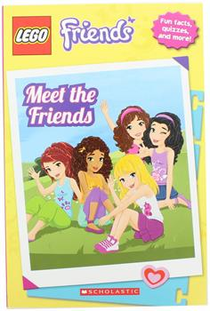 LEGO Friends: Meet the Friends Paperback Book