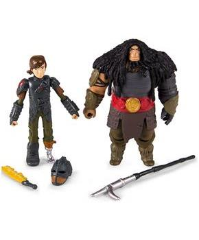 How To Train Your Dragon 2 Figure Battle Pack: Hiccup vs Drago