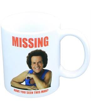 "Richard Simmons ""Missing"" 11 oz Mug"