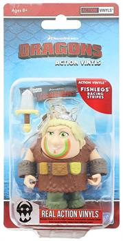 "How To Train Your Dragon 3.25"" Action Vinyl: Fishlegs (Racing Stripes)"