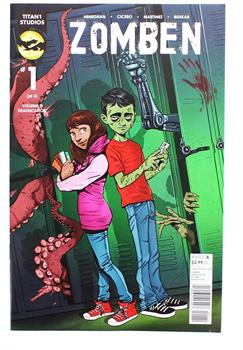 Zomben #1 Comic Book
