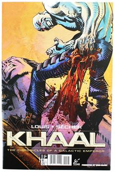 Khaal: Chronicles of Galactic Emperor #1 Comic Book (Comic Block Variant Cover)