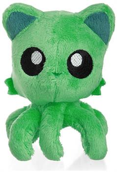 "Tentacle Kitty Little Ones 4"" Plush: Green"