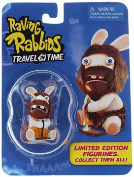 "Raving Rabbids ""Travel in Time"" 2.5"" Mini Figure: Caveman Rabbid"