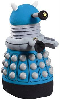 "Doctor Who 16"" Talking Plush Blue Dalek"