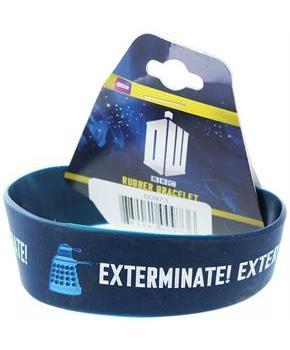 Doctor Who Rubber Wristband Exterminate