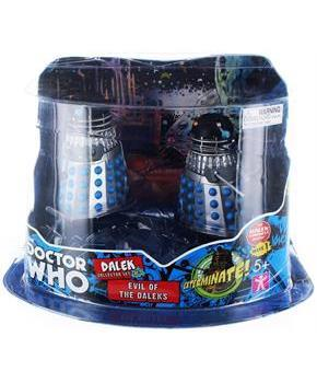 "Doctor Who 3.75"" Action Figure Set #3: ''Evil of the Daleks''"