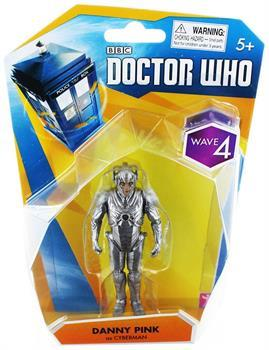 "Doctor Who 3.75"" Action Figure: Danny Pink as Cyberman"