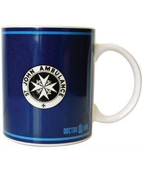 Doctor Who Ceramic 20oz Mug St. John Ambulance
