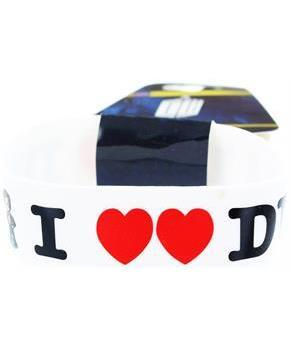 Doctor Who Rubber Wristband I Heart The Doctor