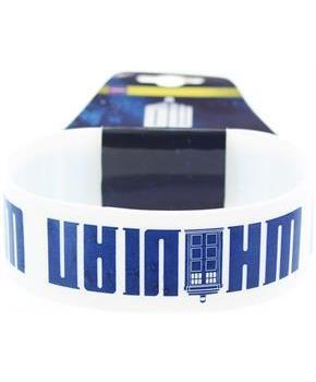 Doctor Who Rubber Wristband Whovian