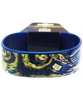 Doctor Who Rubber Wristband Van Gogh Exploding TARDIS