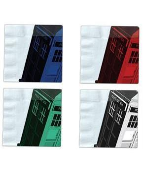 Doctor Who Iconic Color TARDIS Napkin Set of 20