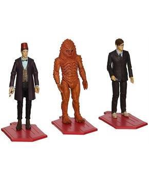 "Doctor Who 3.75"" Day of the Doctor Action Figure 3-Pack"