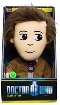 "Doctor Who 11th Doctor 9"" Talking Plush W/LED Sonic Screwdriver"