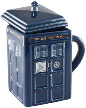 Doctor Who Tardis 17 oz. Mug With Lid