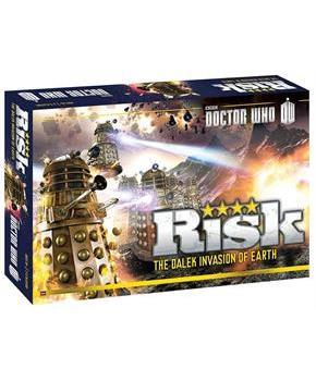 Risk Dr. Who Dalek Invasion Of Earth Board Game