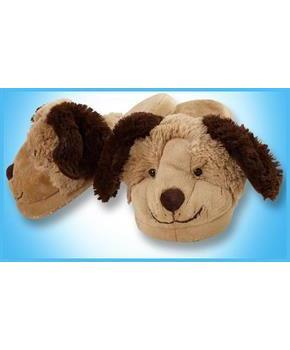My Pillow Pets Dog Slippers Large