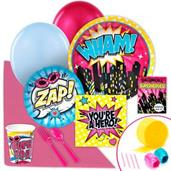 Superhero Girl Value Party Pack