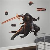 Star Wars VII Kylo Ren Glow in the Dark Giant Wall Decal