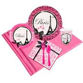 Paris Damask 16 Guest Party Pack