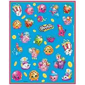 Shopkins Sticker Sheets (4){D}
