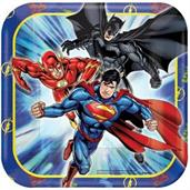 Justice League Square Dessert Plates (8)