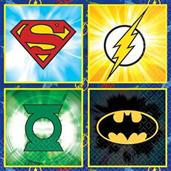 Justice League Beverage Napkins (16)