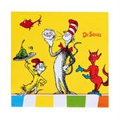 Dr. Seuss Favorites Beverage Napkins (20)