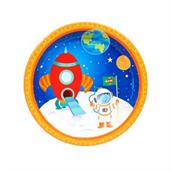 Rocket to Space 7 Dessert Plates