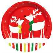 Santa Claus Party Supplies & Decorations Red