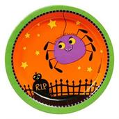 Trick or Treat Halloween Dessert Plates