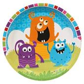 Monsters Dinner Plates