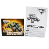Monster Jam Invites