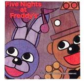 Five Nights at Freddy's Lunch Napkins