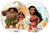 Disney Moana Colorful Party Balloons, Numbered Balloons and Balloon Bouquets