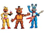 Five Nights at Freddy's Jointed Cutouts (3)